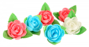 WAFER SMALL ROSE EDIBLE DECORATIONS